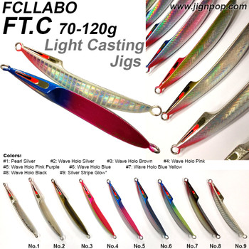 FCLLABO FT.C Light Casting Jig (70~120g)