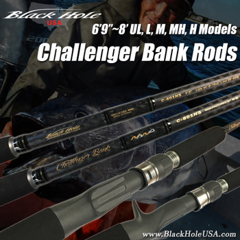 "Black Hole Challenger Bank Rods (6'9""~8')"