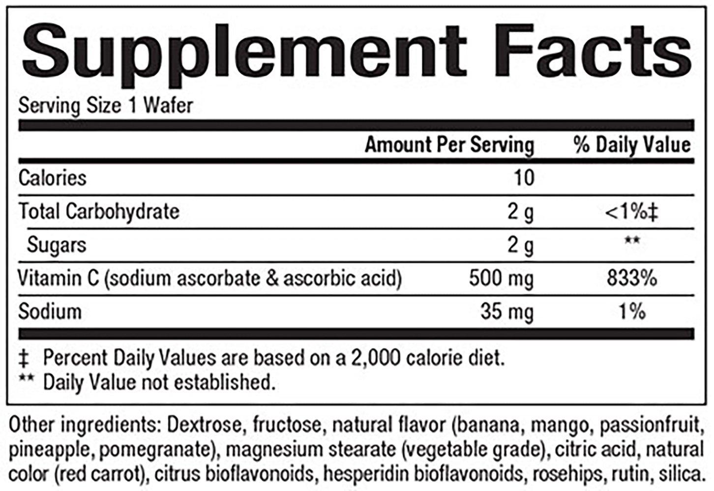 Natural Factors Vitamin C Jungle Juice 90 Tabs
