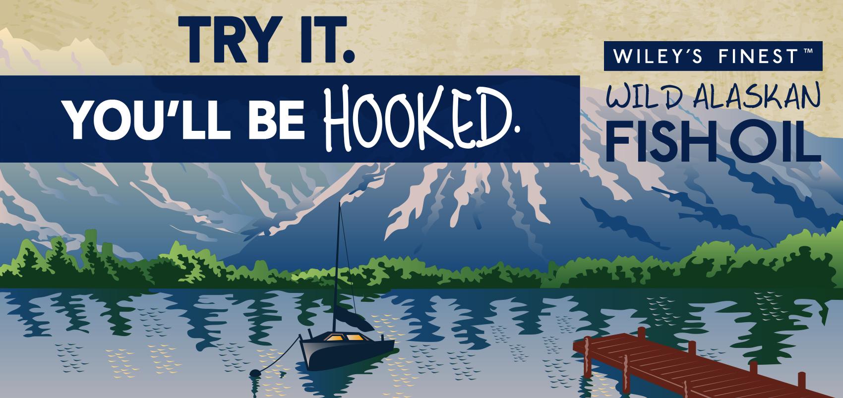 Wiley's Finest Wild Alaskan Fish Oil!