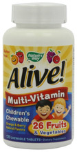 ALIVE Children's Chewable 120