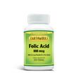 Dave Hawkins' EarthWorks PL Vitamin Folic Acid 800 MCG W/ B-12 200 TABS