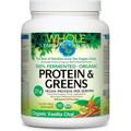 Whole Earth & Sea Fermented Protein & Greens Vanilla - 23.1 oz
