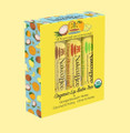 The Naked Bee Lip Balm Trio Gift Set