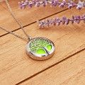 AromaLocket Aromatherapy Necklace Tree of Life
