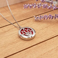 AromaLocket Aromatherapy Necklace Lotus