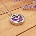 AromaLocket Aromatherapy Necklace Om