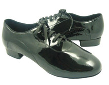 Online Wide Shoes - Black Magic and Love (fully leather)