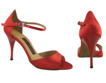 Online Wide Shoes - Satin With a Touch of Lust