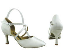 Online Wide Shoes - Satin Innocence (satin)