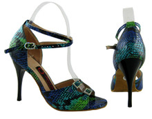 Online Wide Shoes - Shimmer (fully leather, fully adjustable)