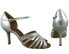 Online Wide Shoes - Silver Caress