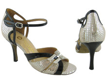 Online Wide Shoes - Mirrored Kiss (fully adjustable, fully leather)