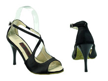Online Wide Shoes - Night Owl (satin)