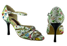 Online Wide Shoes - Butterflies and Dreams (fully adjustable, fully leather)