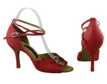 Online Wide Shoes - Bottled Red Wine (fully adjustable, fully leather)