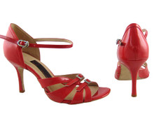 Online Wide Shoes - Patently Stunning (fully adjustable, fully leather)