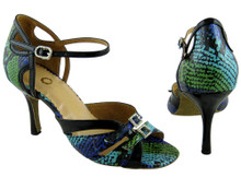 Online Wide Shoes - Garden of Pearls (fully adjustable, fully leather)