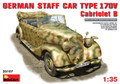MINIART 35107 - 1/35 German Staff Car Type 170V Cabriolet B