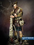 SCALE 75 SCW-007 - 75mm Seaforth Highlander, 1918