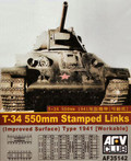 AFV CLUB AF35142 - 1/35 T-34 550mm Stamped Links