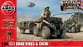AIRFIX A04701 - 1/48 British Forces Quad Bikes & Crew