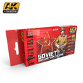 AK INTERACTIVE AK 3120 - Soviet WWII Uniform Colors Set