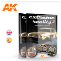 AK INTERACTIVE AK 510 - Extreme Reality 03 Weathered Vehicles & Environments - ENGLISH