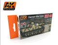 AK INTERACTIVE AK 560 - 1937-1944 German War Colors Set