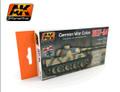 AK INTERACTIVE AK 560 - 1937-1944 German War Colors Set