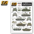 AK INTERACTIVE AK 805 - 1/35 War in Afghanistan Northern Alliance Tanks and AFVs
