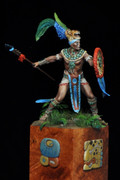 "ALEXANDROS MODELS NW/21 - 75mm ""Mayan Warrior"""