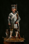 ALEXANDROS MODELS R/2 - 54mm Militiaman 1808, French Soldier