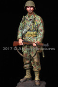ALPINE MINIATURES 16037 - 1/16 US Armored Infantry 2AD Normandy