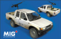 MIG PRODUCTIONS MP 35-144 - 1/35 Pick Up HI-LUX with Dushka Machinegun