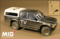 MIG PRODUCTIONS MP35-205 - 1/35 Modern Pick Up HI-LUX with Hard Top (TV- PRESS)
