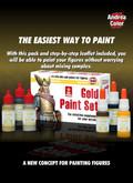 ANDREA MINIATURES ACS-008 - Gold Paint Set