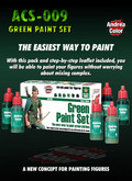 ANDREA MINIATURES ACS-009 - Green Paint Set