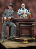 ANDREA MINIATURES S4-S14 - 1/32 Lone Star Saloon