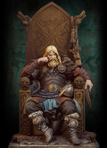ANDREA MINIATURES SV-02 - 1/32 Norse Lord 800 A.D.