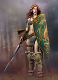 ANDREA MINIATURES WS-33 - 1/32 Verthandi, Sword of Light