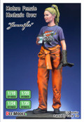 DEF.MODEL DF35015 - 1/35 Female Mechanic Crew Jennifer w/base