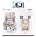 ECHELON FINE DETAILS D356139 - 1/35 Various DAK Emblems (Decal set)