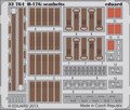 EDUARD 32764 - 1/32 B-17G Seatbelts (Photoetch)