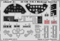 EDUARD 33126 - 1/32 F4U-1 Birdcage interior S.A. (Photoetch)