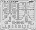 EDUARD 48802 - 1/48 F-4C Air Brakes (Photoetch)