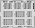 EDUARD 73021 - 1/72 Remove Before Flight Superfabric (Photoetch)