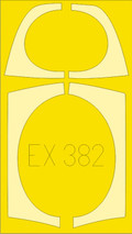 EDUARD EX382 - 1/48 MiG-29 (Flexible Mask)