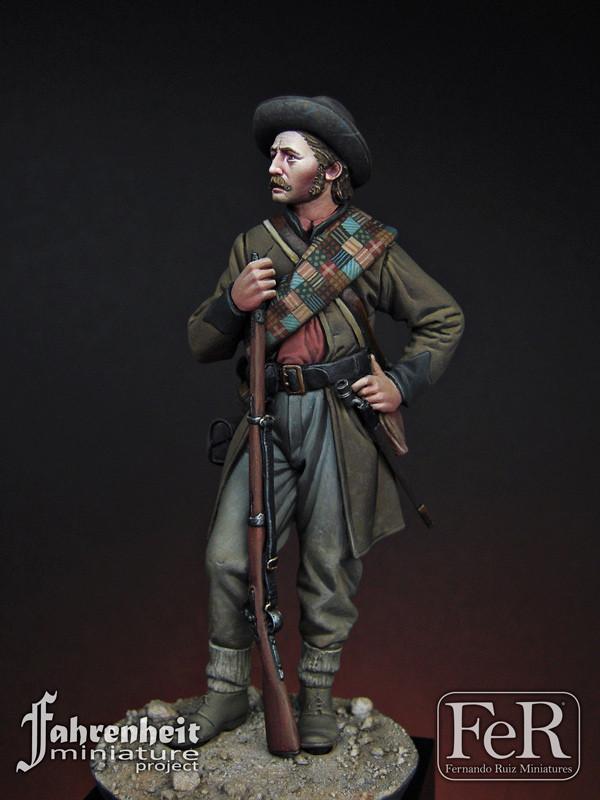 FER MINIATURES FAH00013 - 75mm 15th Georgia Volunteer Infantry, Gettysburg,  1863