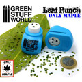 GREEN STUFF WORLD 1415 - Leaf Punch Miniature Medium Blue